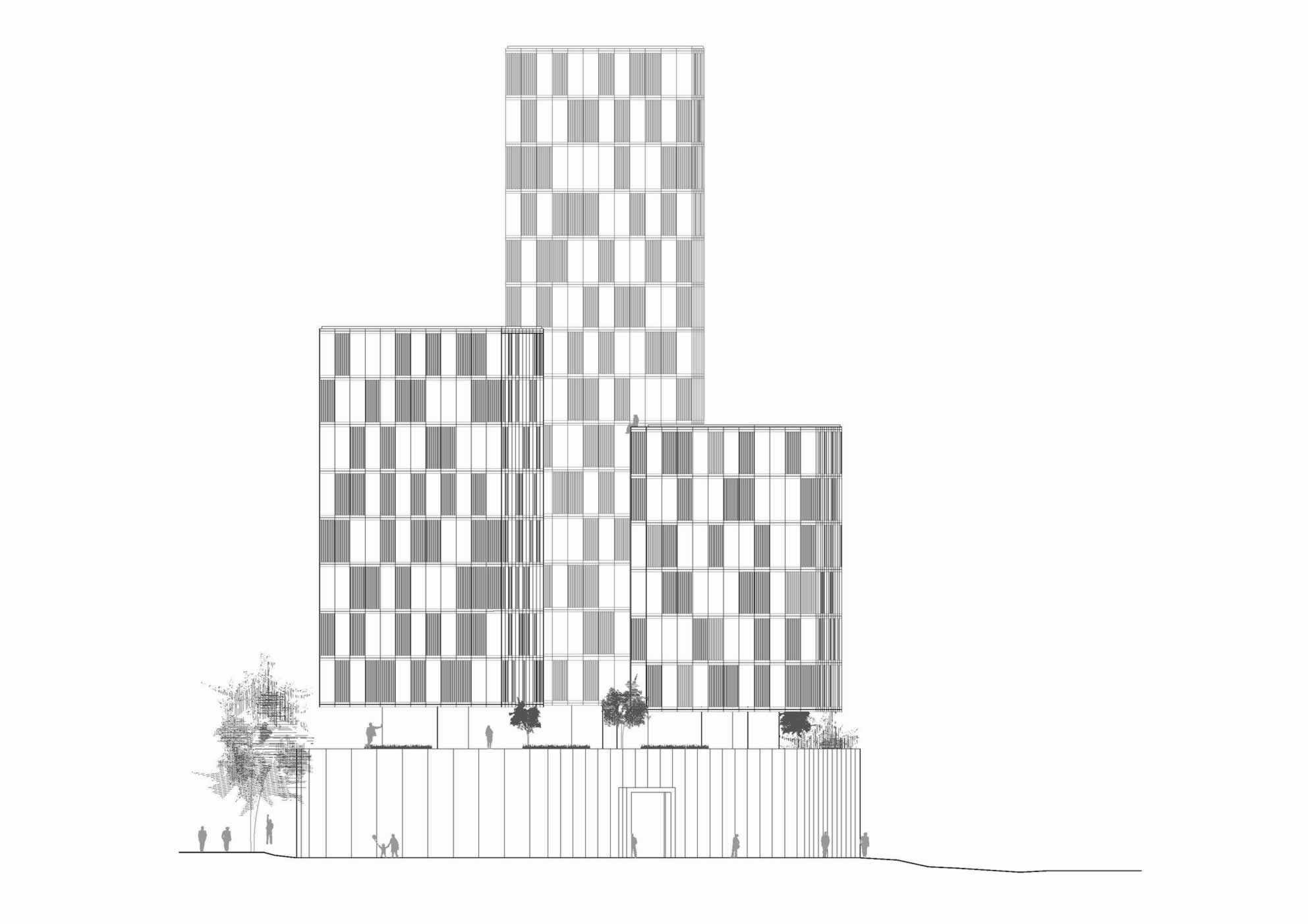 Meeting towers madrid lc arquitectura estudio de for Viveros madrid sur