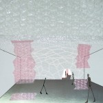 Collage configuración del espacio interior